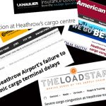 Heathrow cargo congestion
