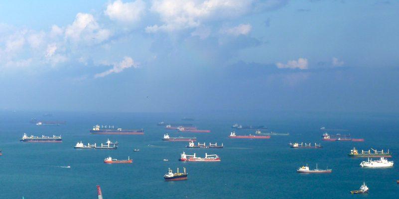Shanghai anchorage