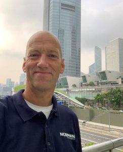 Stefan Holmqvist, Managing Director, Norman Global Logistics Asia